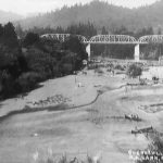 Historic Gallery Archive: Old Guerneville Bridge over Russian River (c. after 1922)