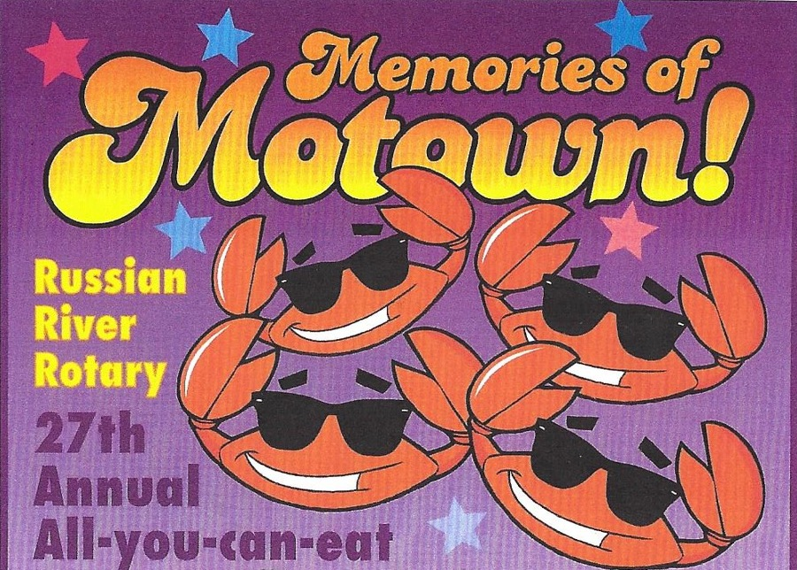 Russian River Rotary Memories of motown graphic header